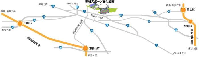 熊谷ラグビー場のアクセス方法!車やバスに徒歩でのルートを紹介!