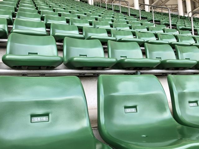 花園ラグビー場の座席【中央自由席】の見え方や値段についてご紹介!